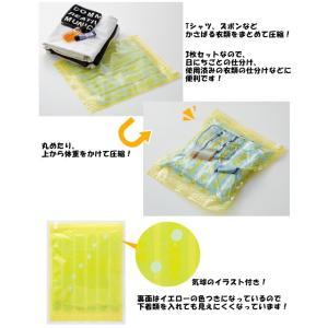[送料299円〜]「tc2」日本製 コンプレッションバッグ Sサイズ 3枚入 衣類圧縮袋 4点迄メール便OK(ra1a100)|griptone|02