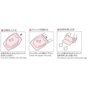 [送料299円〜]「tc2」日本製 コンプレッションバッグ Sサイズ 3枚入 衣類圧縮袋 4点迄メール便OK(ra1a100)|griptone|03