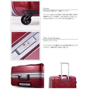 SUPER LIGHTS(スーパーライト) MG-C 69cm MGC1-69 OKOBAN(オコバン)・TSAロック搭載 4輪スーツケース フレーム 極軽(sa1a150)[C]|griptone|05
