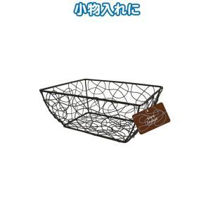 【まとめ買い=注文単位12個】シャビー ワイヤー細工バスケット(ボクシー17×13×8cm) 38-720(se2c239)