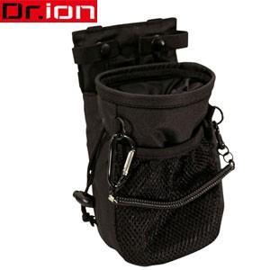クツワ Dr.ion(ドクターイオン) ビジネスに使える収納ケース チョークバッグ ブラック  カラビナ・ベルトループ付き 236DRBK(si1a007) griptone