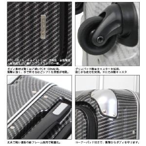 T&S レジェンドウォーカー 50cm 6203-50 TSAロック搭載 4輪スーツケース 軽量細フレーム 前ポケット付 機内持ち込み(ti0a096)[C]|griptone|04