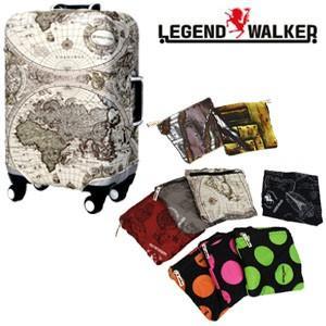 [送料299円〜]T&S スーツケースカバー Lサイズ 収納ポケット付き 9077-L 1点迄メール便OK(ti0a105) griptone