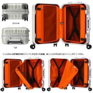 T&S レジェンドウォーカー A-BLADE(エーブレード) 48cm 1000-48 TSAロック搭載 4輪スーツケース フレーム アルミニウム合金ボディ 機内持ち込み(ti0a145)[C]|griptone|03