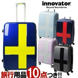 TRIO(トリオ) innovator(イノベーター) 55cm INV55・INV55T TSAロック搭載 4輪スーツケース 2年保証付き ジッパー(to4a039)[C]|griptone