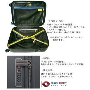 TRIO(トリオ) innovator(イノベーター) 55cm INV55・INV55T TSAロック搭載 4輪スーツケース 2年保証付き ジッパー(to4a039)[C]|griptone|03