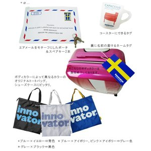 TRIO(トリオ) innovator(イノベーター) 55cm INV55・INV55T TSAロック搭載 4輪スーツケース 2年保証付き ジッパー(to4a039)[C]|griptone|05