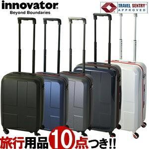 TRIO(トリオ)innovator(イノベーター) 48cm INV48 TSAロック搭載 4輪スーツケース 2年保証付 ジッパー 機内持ち込み 2017(to4a077)[C]|griptone
