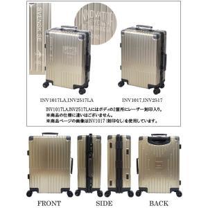TRIO(トリオ) innovator(イノベーター) 64cm INV-2517LA アルミキャリー Lサイズ レーザー刻印 TSAロック 4輪スーツケース フレーム(to4a092)[C] griptone 02