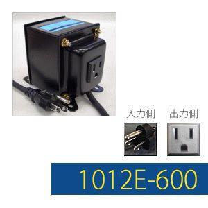 GPTGK1012E-600 Aタイプアースピン付トランス 日本製 AC100V⇒昇圧⇒110-120V(容量600W)(to6a008)|griptone