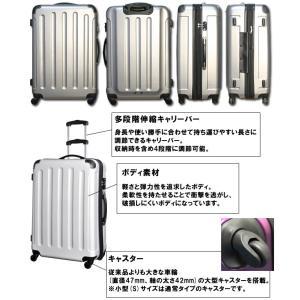 スーツケース アウトレット 激安 超軽量 MOA(モア) 半鏡面つや消し TSAロック ジッパーキャリー 50cm TSA-N260-S(mo0a010)[C]|griptone|03