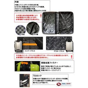 スーツケース アウトレット 激安 超軽量 MOA(モア) 鏡面ボディ TSAロック ジッパーキャリー 50cm TSA-N6230-S(mo0a015)[C]|griptone|05