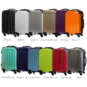 在庫限り!スーツケース アウトレット 激安 超軽量 MOA(モア) 鏡面ボディ TSAロック ジッパーキャリー 46cm TSA-D6260-SS 機内持ち込み(mo0a025)[C] griptone 02