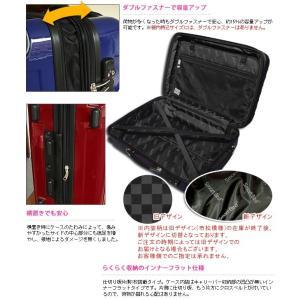 在庫限り!スーツケース アウトレット 激安 超軽量 MOA(モア) 鏡面ボディ TSAロック ジッパーキャリー 46cm TSA-D6260-SS 機内持ち込み(mo0a025)[C] griptone 06