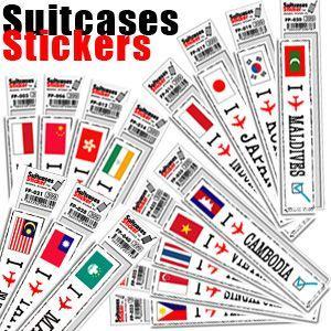 [送料299円〜]「tc150」「pa」Footprint Stickers(フットプリントステッカー) 国名ステッカー アジア FP-000 100点迄メール便OK(ze0a001)|griptone
