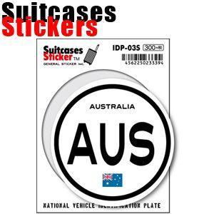 [送料299円〜]「tc150」「pa」Suitcases Sticker(スーツケースステッカー) 国際識別記号ステッカー オセアニア IDP 100点迄メール便OK(ze0a008)|griptone