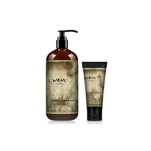 クリームで洗う新発想のヘアケア「ウェン」   【アーモンド】 人気のベーシックタイプ。 保湿効果に優...