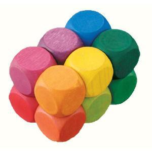 ドイツ製 木のおもちゃ ベリデザイン 知育玩具 ベリアート・キューブ・カーブ 幾何学アート 色々な形に変形できちゃう!|grooveplan