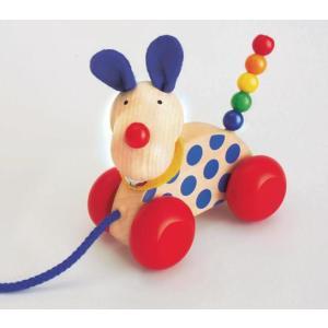 ドイツ製 木のおもちゃ セレクタ社 Selecta 知育玩具 プルトーイ・ニコ よちよち歩き|grooveplan