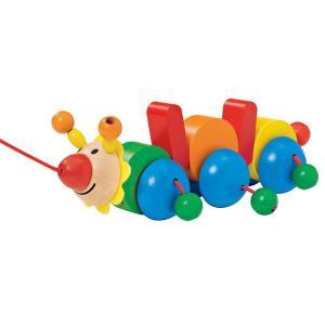 ドイツ製 木のおもちゃ セレクタ社 Selecta 知育玩具 プルトーイ・バコ よちよち歩き|grooveplan