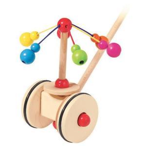 ドイツ製 木のおもちゃ セレクタ社 Selecta 知育玩具 手押し・メリーゴーランド 手押し車 カタカタ|grooveplan