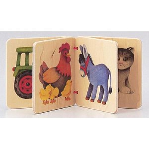 ドイツ製 木のおもちゃ セレクタ社 Selecta 知育玩具 セレクタアルバム・農場 絵本|grooveplan