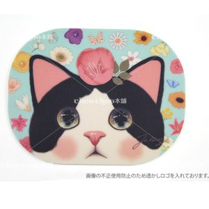 jetoy ジェトイ choochoo本舗 チューチュー本舗 猫雑貨 かわいい白黒猫のマウスパッド はちわれネコ|grooveplan