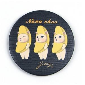 jetoy ジェトイ choochoo本舗 チューチュー本舗 猫のミニミラー バナナネコの手鏡 ねこ チュチュ|grooveplan