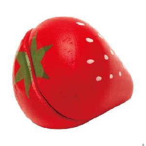 木のおもちゃ いちご はじめてのおままごと ウッディプッディ マグネット 単品食材 食べ物 木製玩具|grooveplan