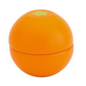木のおもちゃ オレンジ はじめてのおままごと ウッディプッディ マグネット 単品食材 食べ物 木製玩具|grooveplan