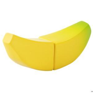 木のおもちゃ バナナ はじめてのおままごと ウッディプッディ マグネット 単品食材 食べ物 木製玩具|grooveplan