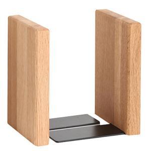 ブックエンド 本立て オーク ブックスタンド 木製 ラトレ latree FUN 天然木 シンプル おしゃれ インテリア|grooveplan