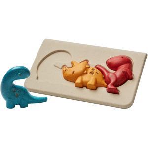木のおもちゃ プラントイ 恐竜パズル 知育玩具|grooveplan