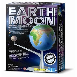 理科 工作 4m フォーエム アースムーンモデルキット 地球 月と太陽模型|grooveplan