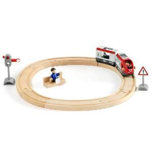 BRIO ブリオ 木製レール トラベルスターターセット 列車 木のおもちゃ