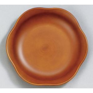 プレートS See木製風 ライトブラウン 食器 皿 食洗機・電子レンジ対応|grooveplan