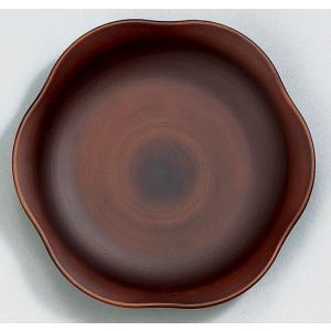 プレートS See木製風 ダークブラウン 食器 皿 食洗機・電子レンジ対応|grooveplan