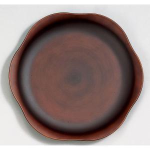 プレートL See木製風 ダークブラウン 食器 皿 食洗機・電子レンジ対応|grooveplan