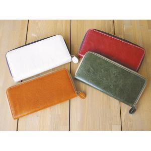 レザーロングウォレットA 革製長財布 おしゃれ ファッション小物 選べる4色|grooveplan