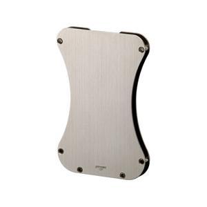 SAROME サロメ カードケース EXNA2 名刺入れにも シンプル シャンパンゴールド ヘアライン grooveplan
