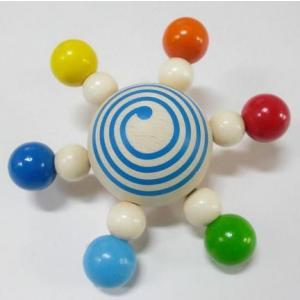 ハイメスHEIMESS スターコマ カラー ベビー おもちゃ 木のおもちゃ こま|grooveplan