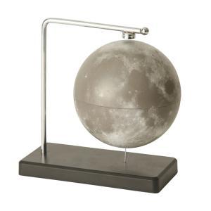 フローティング月球儀  グレー  インテリア雑貨|grooveplan