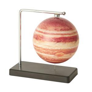 フローティング木星儀  レッド  インテリア雑貨|grooveplan