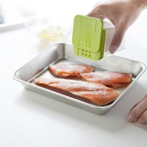 小麦粉&スパイスボトル アクア グリーン 緑 キッチン 調味料ケース 収納|grooveplan