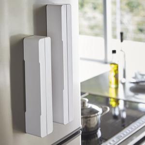 マグネットラップケース アクア S ホワイト 白 キッチン 収納|grooveplan