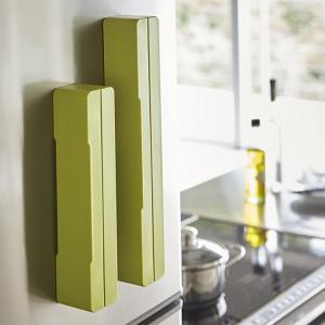 マグネットラップケース アクア S グリーン 緑 キッチン 収納|grooveplan