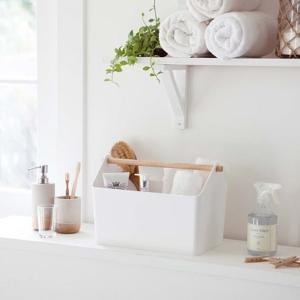 収納ボックス Favori(ファボリ) ホワイト 収納 小物入れ キッチン サニタリー|grooveplan