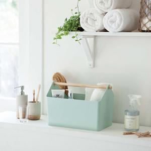 収納ボックス Favori(ファボリ) ブルー 収納 小物入れ キッチン サニタリー|grooveplan