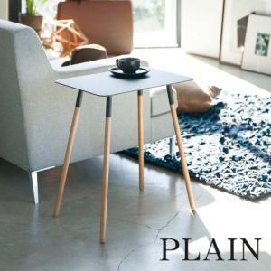 サイドテーブル PLAIN(プレーン) 角型 ブラック インテリア 家具|grooveplan