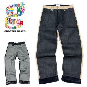 チノパン メンズ パンツ 非対称 スラックス ブラック ワークパンツ XXL XXXL 大きいサイズ groover-grand